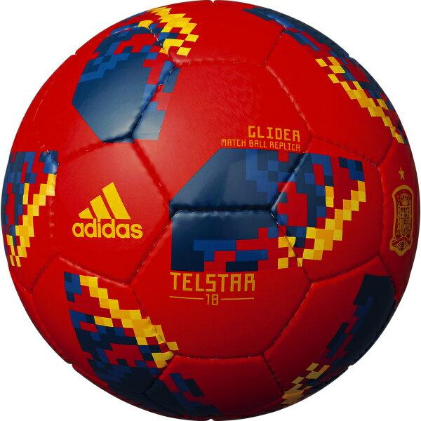 テルスター 18 試合球レプリカ グライダー スペイン 【adidas アディダス】サッカーボール5号球af5305sp
