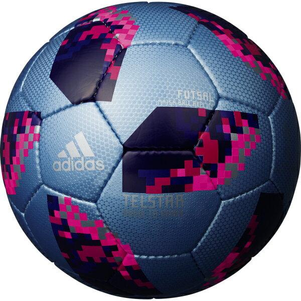 テルスター 18 試合球レプリカ フットサル ブルー 【adidas アディダス】フットサルボール4号球aff4301b