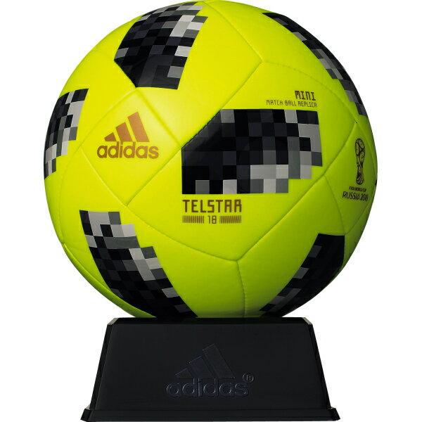 テルスター 18 試合球レプリカ ミニ イエロー 【adidas アディダス】サッカーボール1号球afm1300y