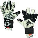 ACE 2 フェイス クリームホワイト×ブラック 【adidas アディダス】サッカーゴールキーパーグローブdkn01-bs4118