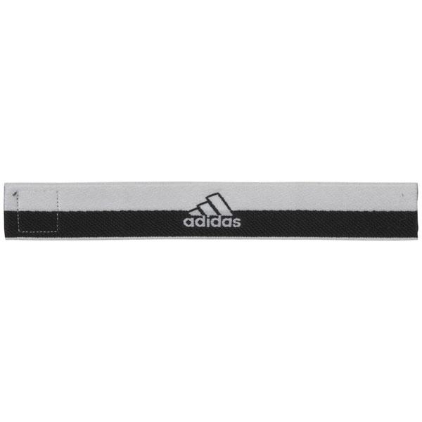 ストッキングベルト ホワイト×ブラック 【adidas|アディダス】サッカーフットサルアクセサリーdml79-br6105