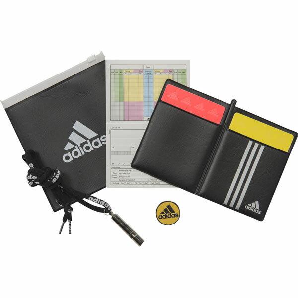 レフェリースターターセット 【adidas|アディダス】サッカーレフェリー関連商品dml96-br1406
