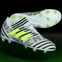 ジュニア ネメシス 17.1 FG/AG J  ランニングホワイト×ソーラーイエロー 【adidas アディダス】サッカージュニアス…