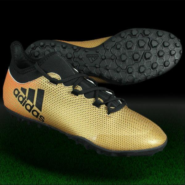 エックス タンゴ 17.3 TF タクティルゴールドメランジF17×コアブラック 【adidas|アディダス】サッカーフットサルトレーニングシューズcp9135