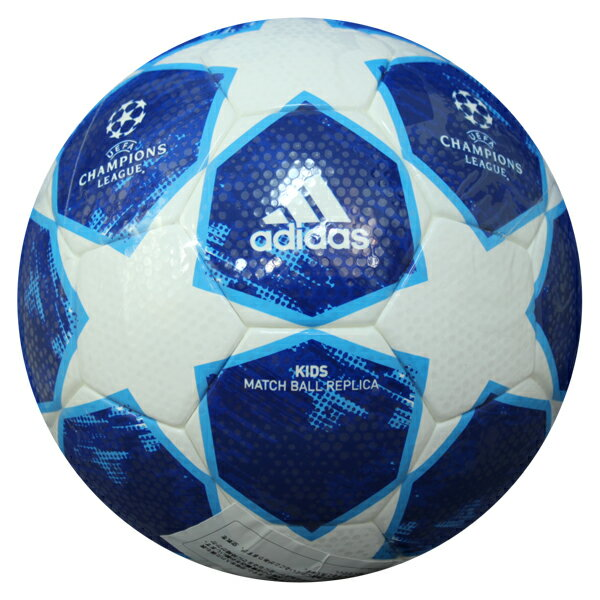 UEFAチャンピオンズリーグ 2018-2019 グループリーグ大会公式試合球レプリカ フィナーレ キッズ 【adidas アディダス】サッカーボール4号球af4400bw