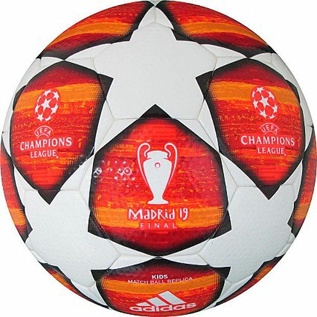 UEFAチャンピオンズリーグ 2018-2019 決勝トーナメント公式試合球レプリカ フィナーレマドリード キッズ 【adidas|アディダス】サッカーボール4号球af4400ma
