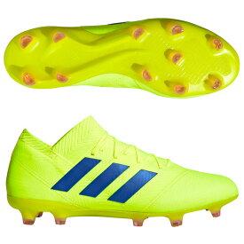 ネメシス 18.1 FG/AG ソーラーイエロー×フットボールブルー 【adidas アディダス】サッカースパイクbb9426