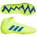 ネメシス 18.3 TF ソーラーイエロー×フットボールブルー 【adidas|アディダス】サッカーフットサルトレーニングシ…