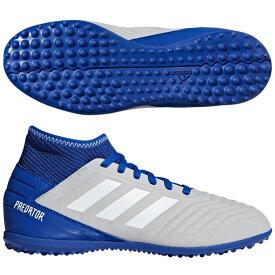 ジュニア プレデター 19.3 TF J グレーTWO F17×ランニングホワイト×ボールドブルー 【adidas|アディダス】サッカーフットサルジュニアトレーニングシューズcm8548