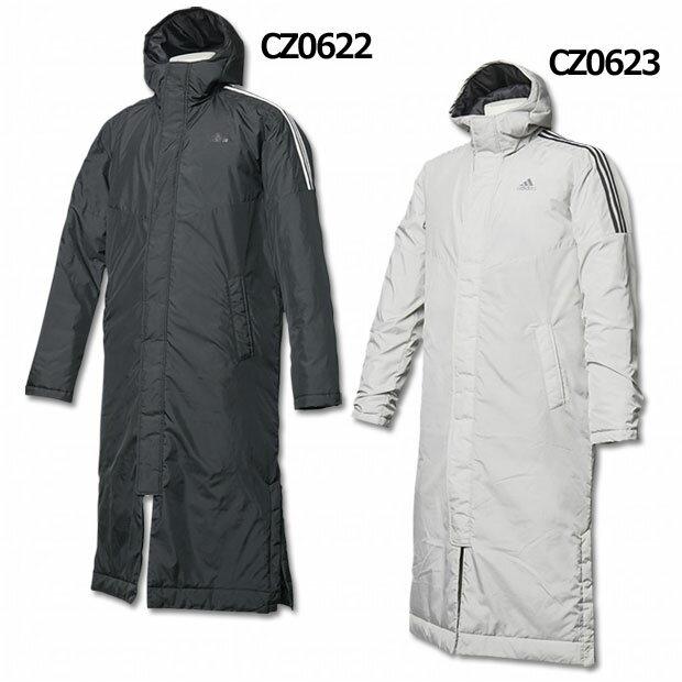 3ストライプスインシュレーションコート 【adidas アディダス】サッカーフットサル防寒ウェアーeyv00