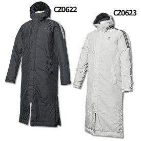 3ストライプスインシュレーションコート 【adidas|アディダス】サッカーフットサル防寒ウェアーeyv00