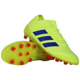 ネメシス 18.1-ジャパン HG/AG ソーラーイエロー×フットボールブルー 【adidas アディダス】サッカースパイクf97349
