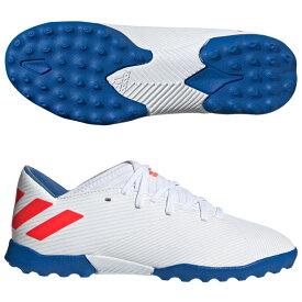 ジュニア ネメシス メッシ 19.3 TF J アクティブレッドS19×シルバーメット 【adidas|アディダス】サッカーフットサルジュニアトレーニングシューズf99930