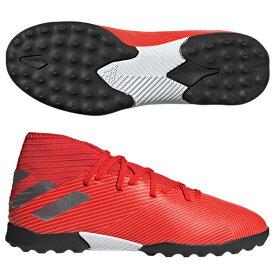 ジュニア ネメシス 19.3 TF J アクティブレッドS19×シルバーメット 【adidas|アディダス】サッカーフットサルジュニアトレーニングシューズf99941