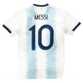 アルゼンチン代表 2019 ホーム 半袖レプリカユニフォーム 10.メッシ 【adidas|アディダス】ナショナルチームレプリカウェアーfly61-dn6716-10-m