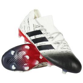 ネメシス 18.1 FG/AG オフホワイト×コアブラック 【adidas|アディダス】サッカースパイクbb9425
