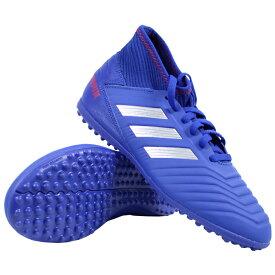 ジュニア プレデター 19.3 TF J ボールドブルー×シルバーメット 【adidas アディダス】サッカーフットサルジュニアトレーニングシューズcm8546