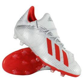 エックス 19.2-ジャパン HG/AG シルバーメット×ハイレゾレッドS18 【adidas|アディダス】サッカースパイクf35333