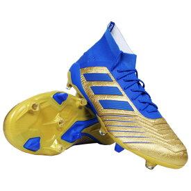 プレデター 19.1 FG ゴールドメット×フットボールブルー 【adidas|アディダス】サッカースパイクf35608
