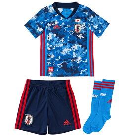 サッカー日本代表 2020 ホーム ミニキット KIDS 【adidas|アディダス】サッカー日本代表ジュニアレプリカウェアーgem15-ed7354