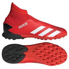 ジュニア プレデター 20.3 LL TF J アクティブレッド×フットウェアホワイト 【adidas アディダス】サッカーフットサルジュニアトレーニングシューズef1949