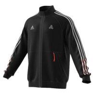 TANGOテックウーブンジャケットブラック【adidas|アディダス】サッカーフットサルウェアーkcm80-fr8362