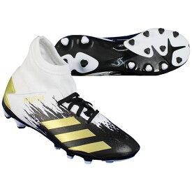 ジュニア プレデター 20.3 HG/AG J フットウェアホワイト×ゴールドメタリック 【adidas|アディダス】サッカージュニアスパイクfw9219