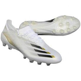 エックス ゴースト.1 ジャパン HG/AG フットウェアホワイト×コアブラック 【adidas|アディダス】サッカースパイクfw9569