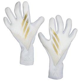 エックス グローブ PRO ホワイト×ゴールドメタリック 【adidas|アディダス】サッカーゴールキーパーグローブiri47-fs0425
