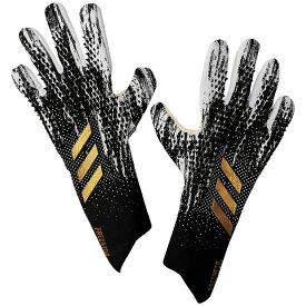 プレデター グローブ PRO PC ブラック×ホワイト 【adidas|アディダス】サッカーゴールキーパーグローブjev81-gh1744