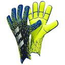プレデター グローブ プロ ブラック×チームロイヤルブルー 【adidas|アディダス】サッカーゴールキーパーグローブ2…
