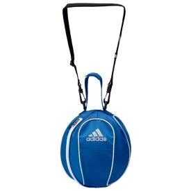 ボールバッグ 1個入れ ブルー 【adidas|アディダス】サッカーフットサルバッグakm20bw