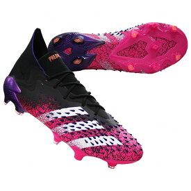 プレデター フリーク.1 FG コアブラック×ショックピンク 【adidas|アディダス】サッカースパイクfw7241
