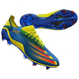 エックス ゴースト.1 FG ブルー×レッド×イエロー 【adidas|アディダス】サッカースパイクfy1223