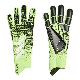 プレデターグローブ PRO シグナルグリーン×ブラック 【adidas|アディダス】サッカーゴールキーパーグローブiri28-fs0393
