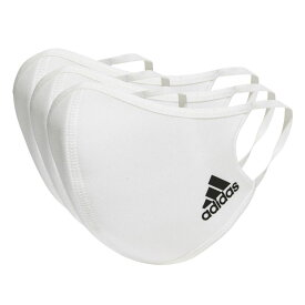 フェイスカバー M/L 3枚組 ホワイト 【adidas|アディダス】サッカーフットサルアクセサリーkoh81-h34578
