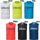 カラープラクティスノースリーブシャツ 【ATHLETA|アスレタ】サッカーフットサルウェアー01084
