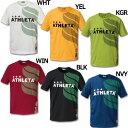 ジュニア カフェブラロゴTシャツ 【ATHLETA|アスレタ】サッカーフットサルジュニアウェアー03293j