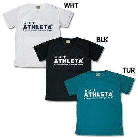 ジュニア ドットシンプルプラシャツ 【ATHLETA|アスレタ】サッカーフットサルジュニアウェアーfkg-01j