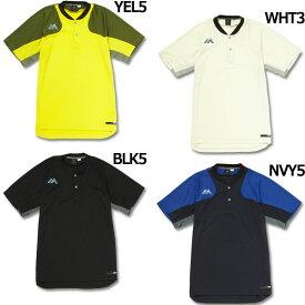 オーセンティック テック2ボタン トレーニングショートスリーブTシャツ 【Majestic|マジェスティック】ベースボールウェアーxm01maj023