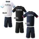 プラクティス上下セット 【FINTA|フィンタ】サッカーフットサルウェアーft6706
