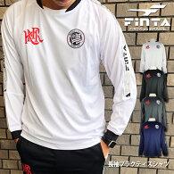 長袖プラクティスシャツ【FINTA|フィンタ】サッカーフットサルウェアーftb7329k