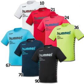 プラクティスTシャツ 【hummel|ヒュンメル】サッカーフットサルウェアーhap4129