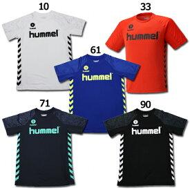 ジュニア ドライ半袖Tシャツ 【hummel|ヒュンメル】サッカーフットサルジュニアウェアーhjy2096