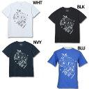 B-MAPパターン 半袖Tシャツ 【LUZ e SOMBRA ルースイソンブラ】サッカーフットサルウェアーs1712007