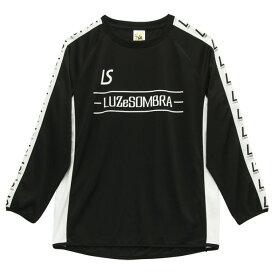 SEEKER 長袖プラクティスシャツ ブラック 【LUZ e SOMBRA|ルースイソンブラ】サッカーフットサルウェアーf2011024-blk