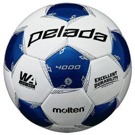 ペレーダ 4000 ホワイト×ブルー 【molten|モルテン】サッカーボール5号球f5l4000-wb