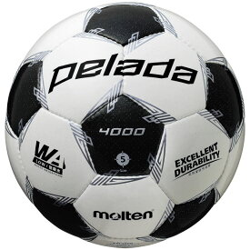 ペレーダ 4000 ホワイト×ブラック 【molten|モルテン】サッカーボール5号球f5l4000