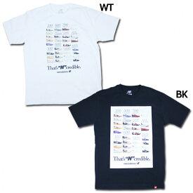 インクレディブルTシャツ 【NewBalance|ニューバランス】サッカーフットサルウェアーmt91582