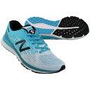 HANZO C M 2E ホワイト×ブルー 【NewBalance|ニューバランス】ランニングシューズmhanzcw22e